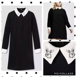 Victoria Beckham for target rabbit shift dress 1X